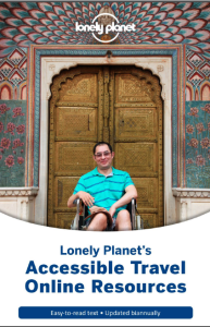 copertina della guida Accessible Travel. On line Resourches